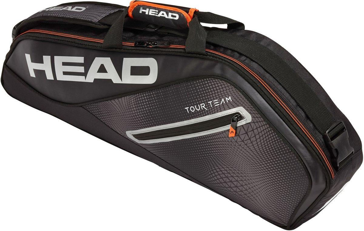 Head Tennistas - Unisex - zwart/zilver/oranje kopen