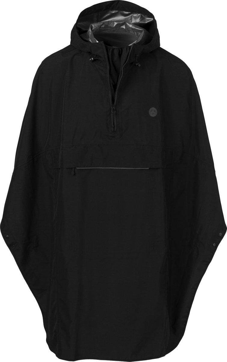 AGU Grant One Size Regenponcho - Unisex - Black kopen