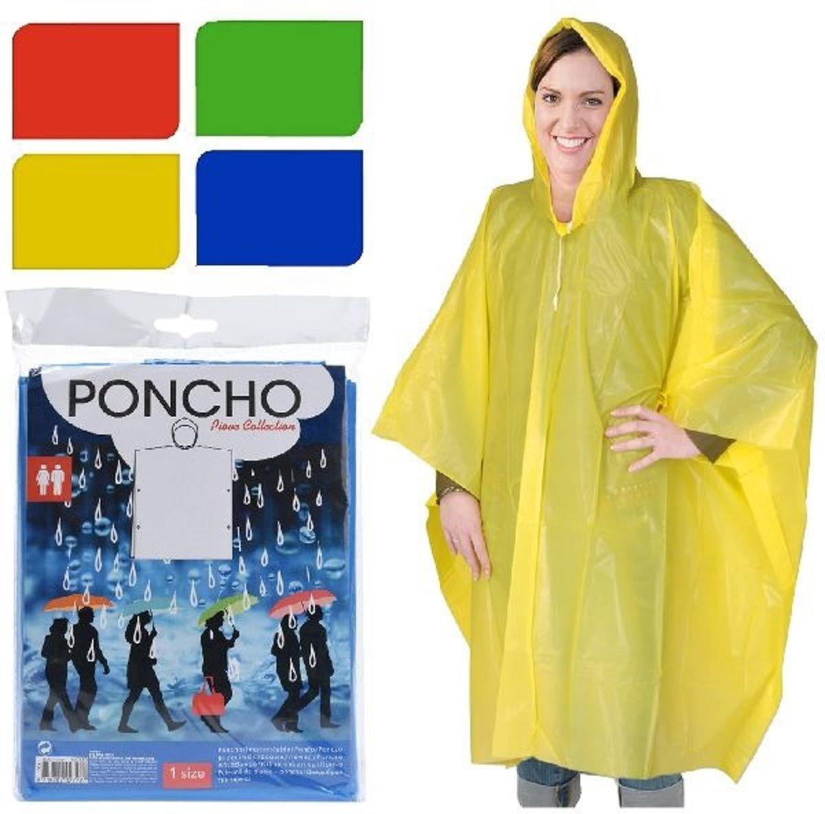Poncho - Blauw - One size kopen
