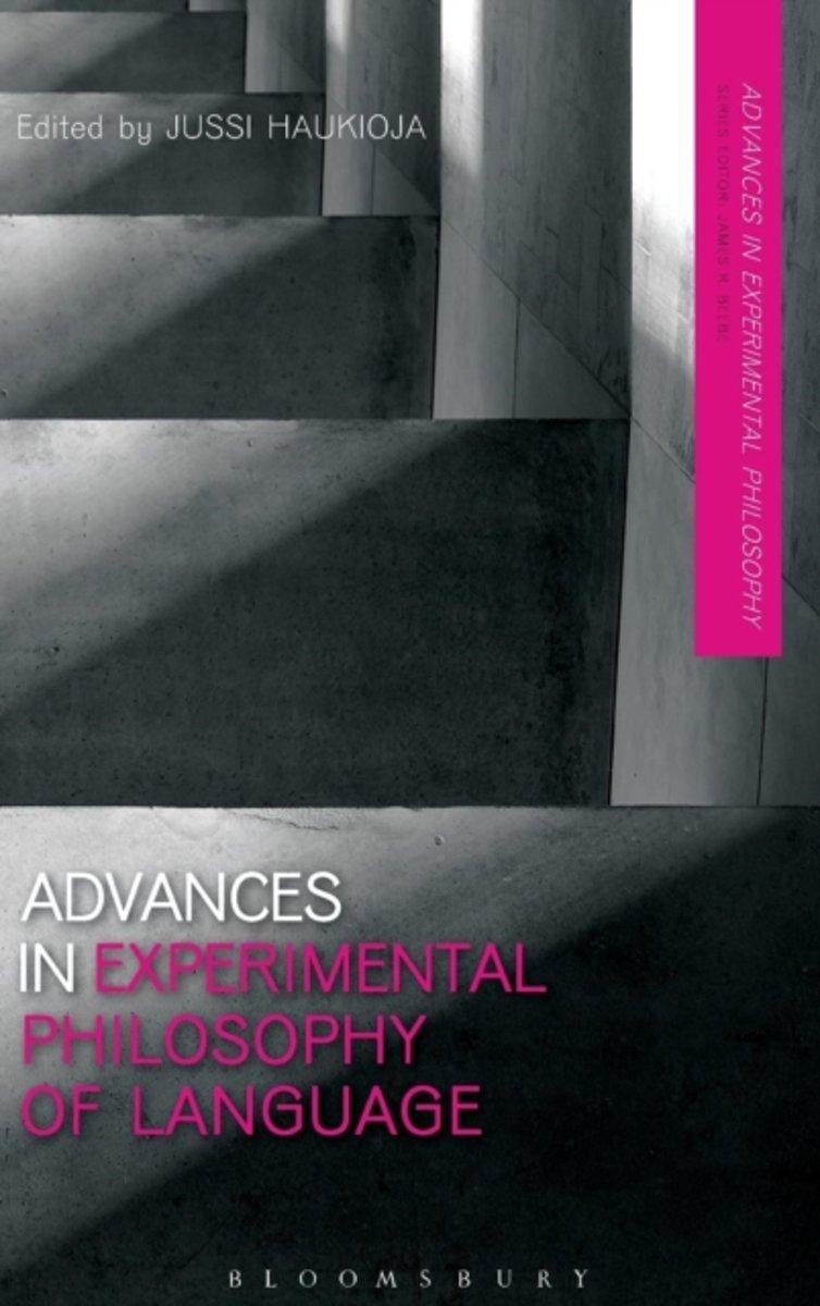 bol.com   Advances in Experimental Philosophy of Language   9781472570734    Boeken