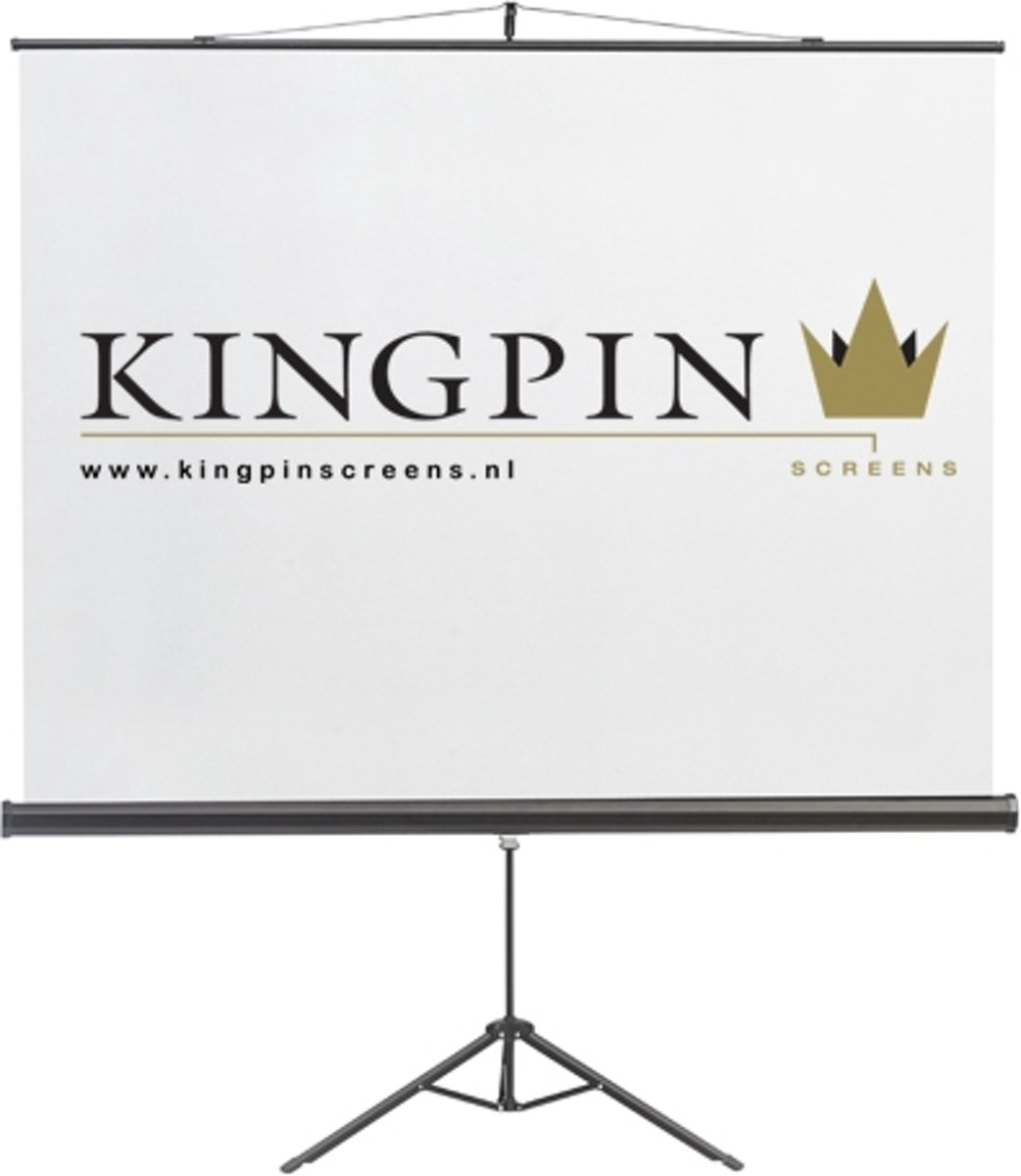 Kingpin Screens Tripod Screen projectiescherm 2,87 m (113'') 1:1 kopen