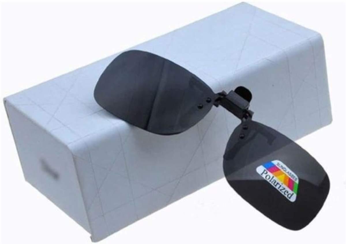 aadba22b5aaa96 ... Clip-On   Voorzet Zonnebril Zwart - M - TrendX® ...