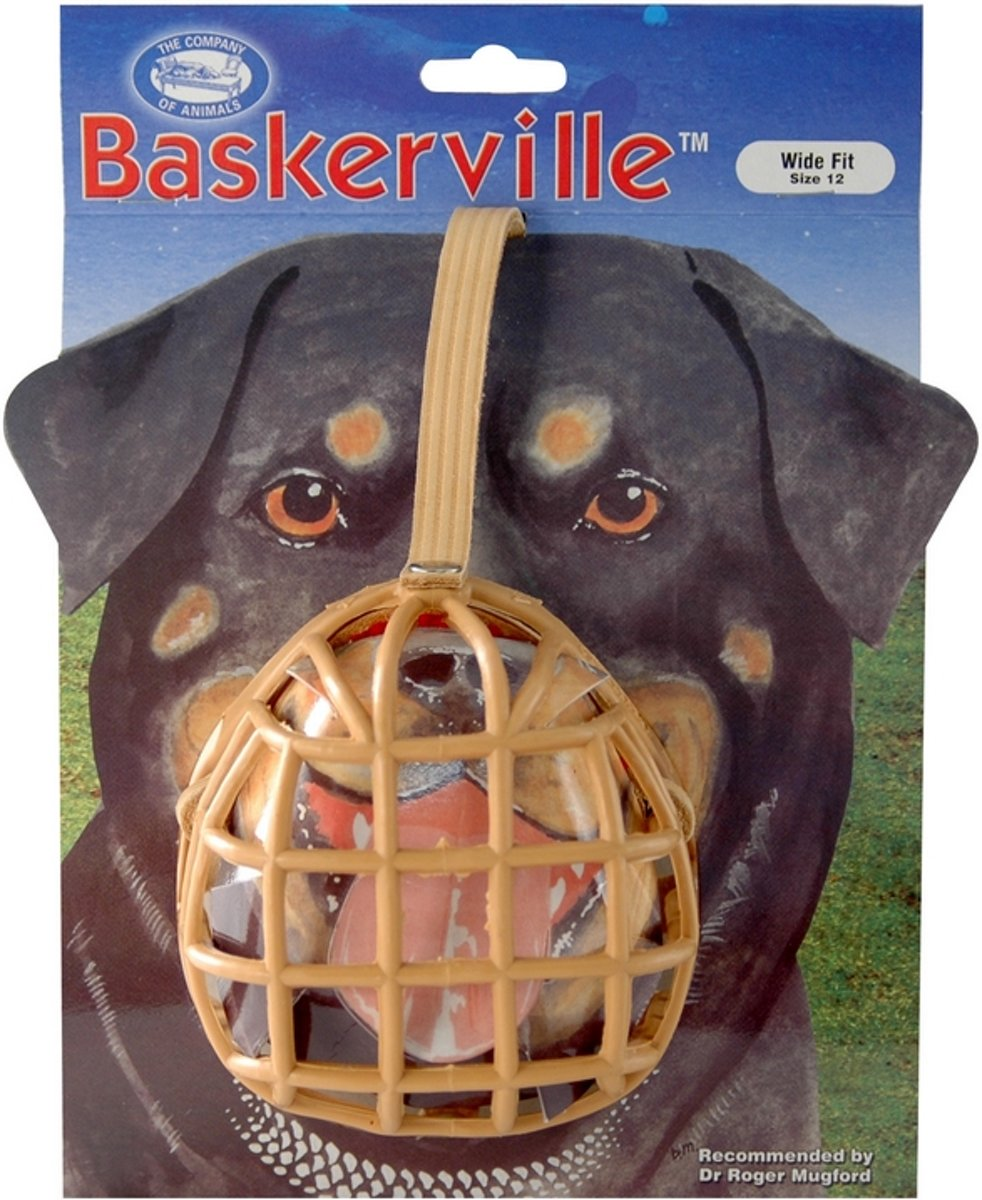 Baskerville muilkorf baskerville nr. 12 - 1 ST kopen