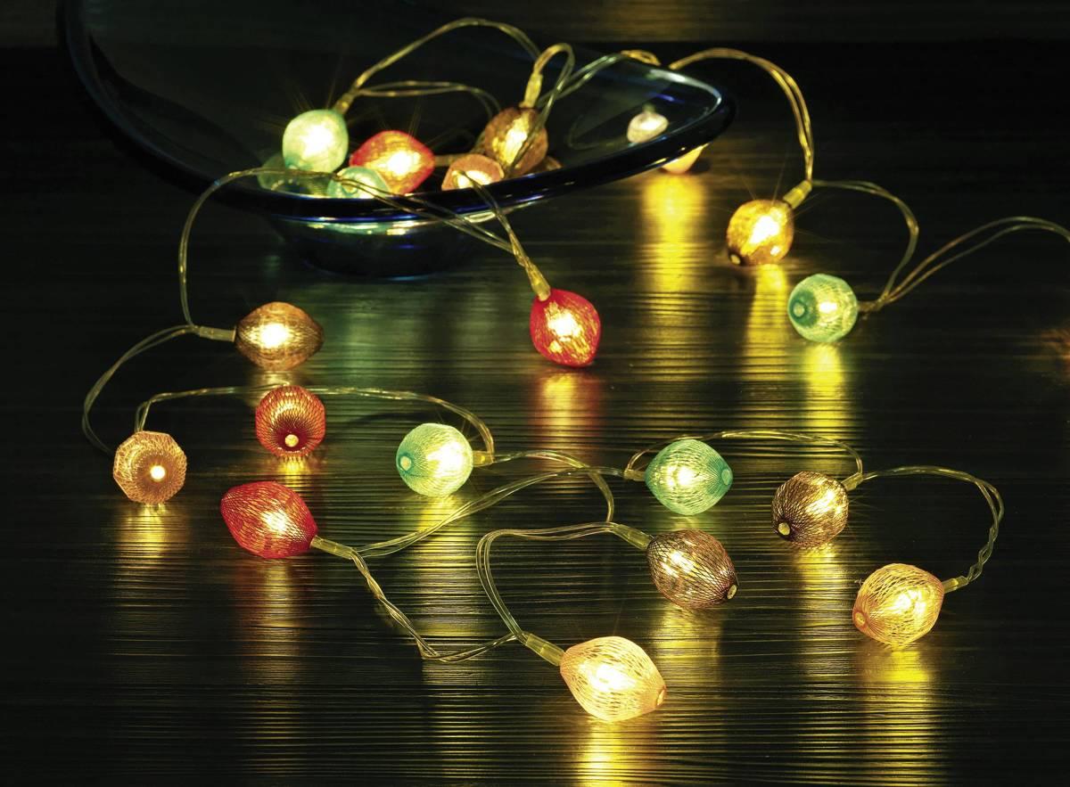 Polarlite LBA-20-005 Motief lichtketting Lampion Binnen werkt op batterijen 20 LED Warm-wit kopen