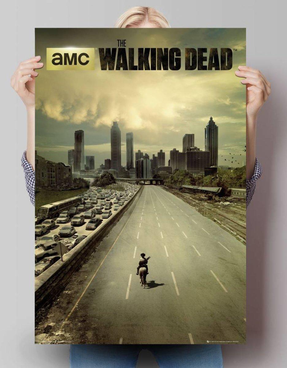 Reinders Poster The Walking Dead - city - Poster - 61 × 91,5 cm - no. 24380 kopen