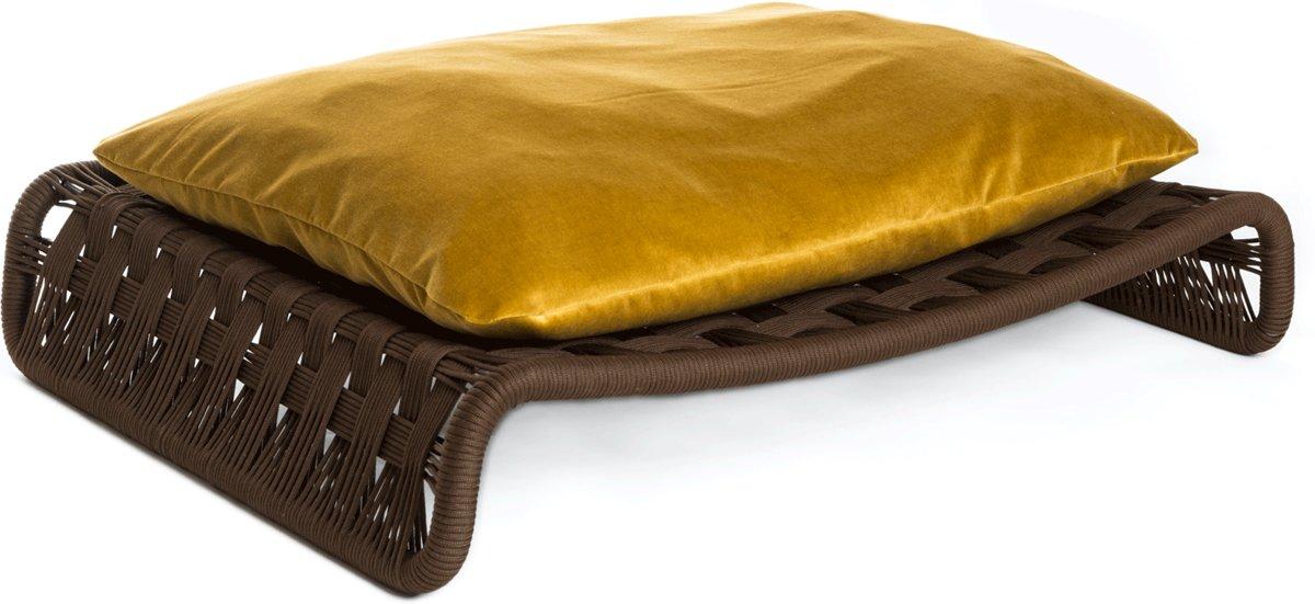 Brando Design Kanak hondensofa  goud kopen