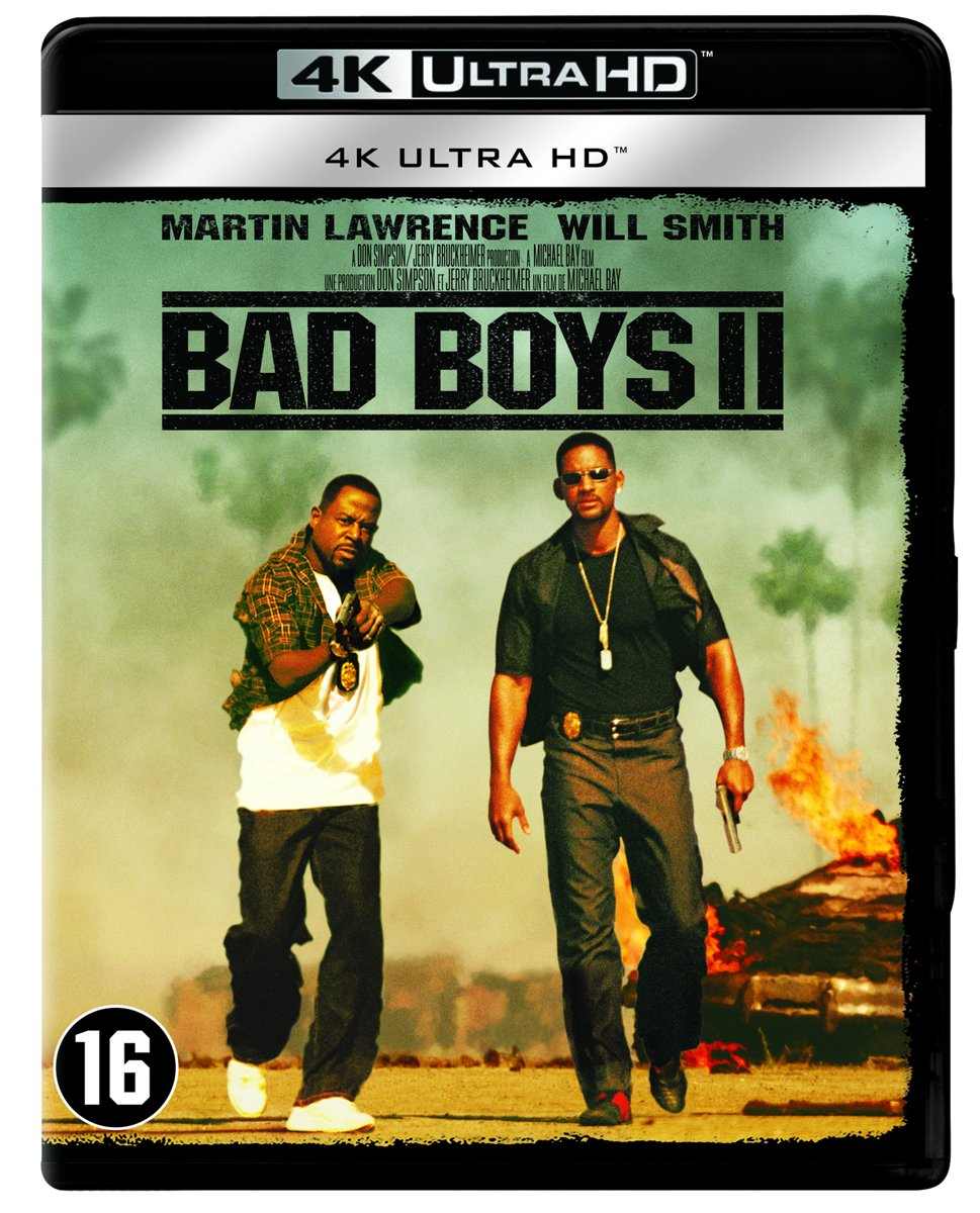 Bad Boys II (2003) (4K Ultra HD Blu-ray)-