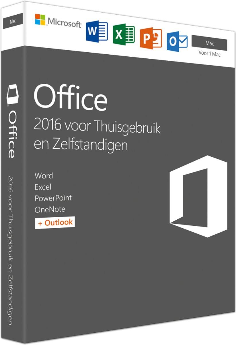 Spiksplinternieuw bol.com | Microsoft Office 2016 Home & Business - Mac EZ-28