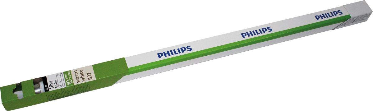 Philips TL-D balk 18W 827 590mm G13 warm wit dimbaar kopen