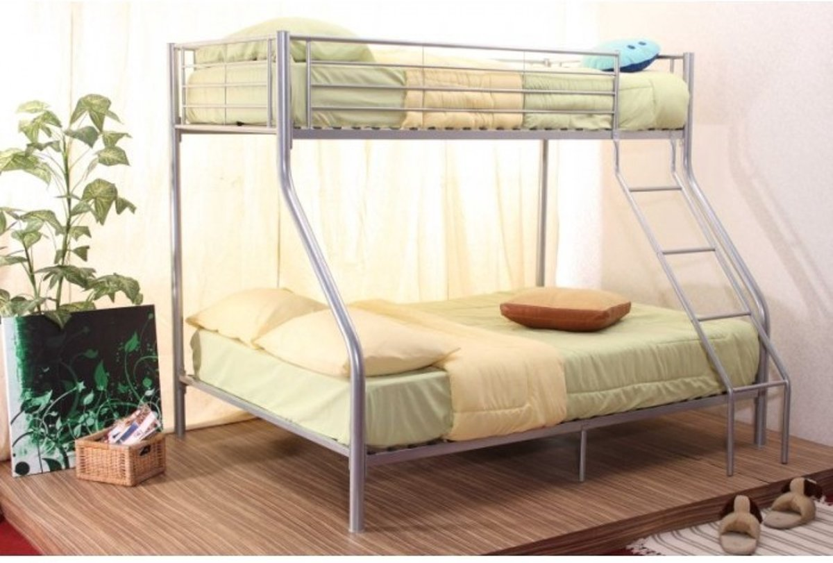 Stapelbed Metaal Ikea.Bol Com Stapelbed 3 Persoons
