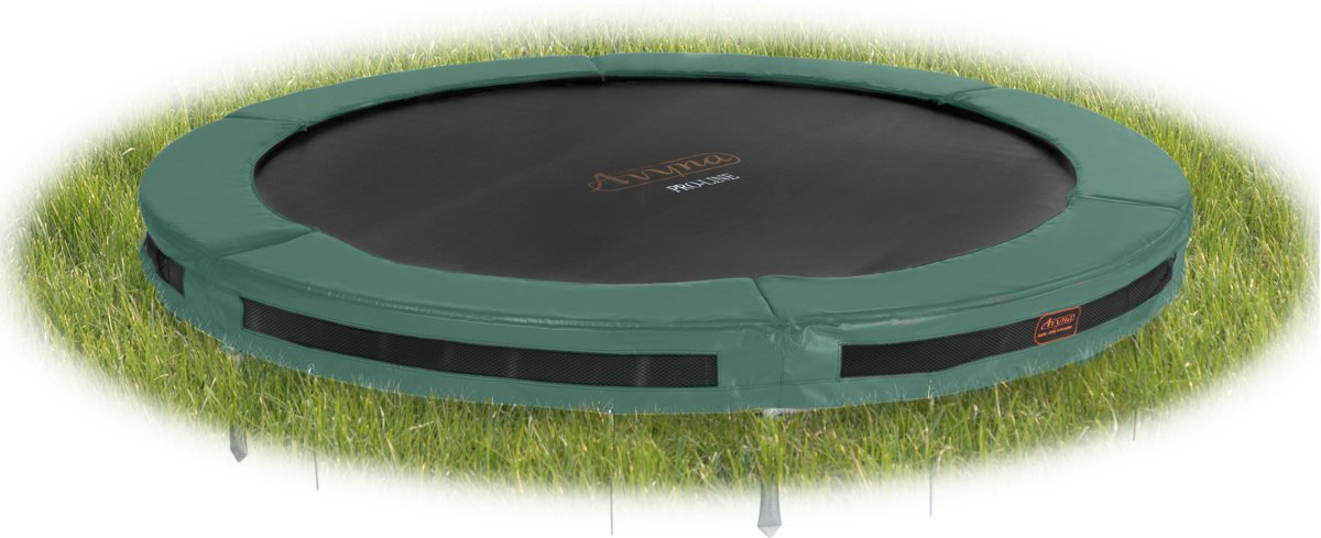 Avyna InGround trampoline PRO-LINE 2,45 (08 ft) Groen