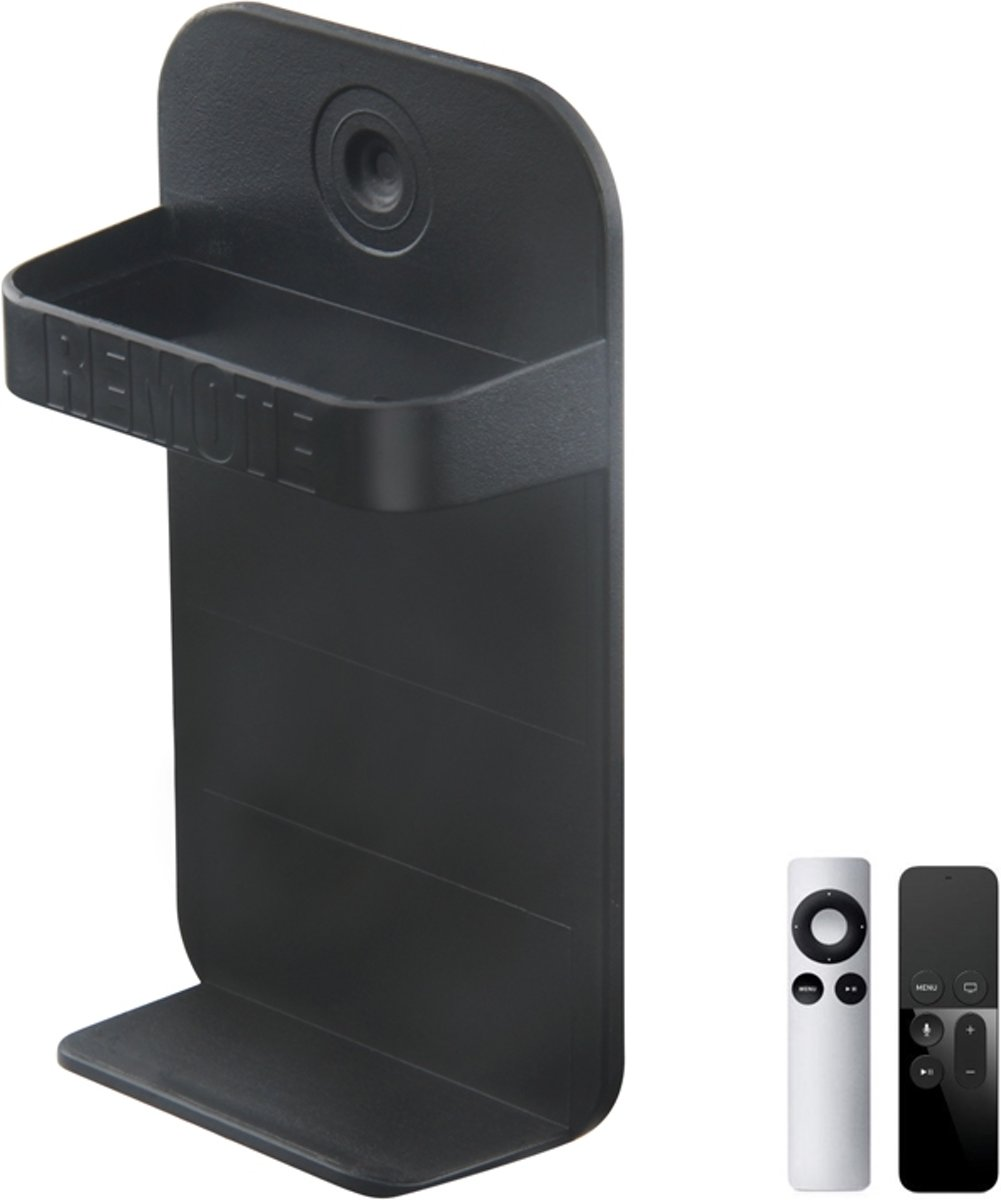 Wandbeugel Voor Apple TV 2/3/4/5 & Amazon Fire 4K Remote - Afstandbediening Houder Muurhouder Mount - Muurbevestiging Wandhouder - Zwart kopen