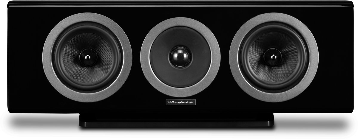 Wharfedale REVA Center Speaker - Zwart kopen