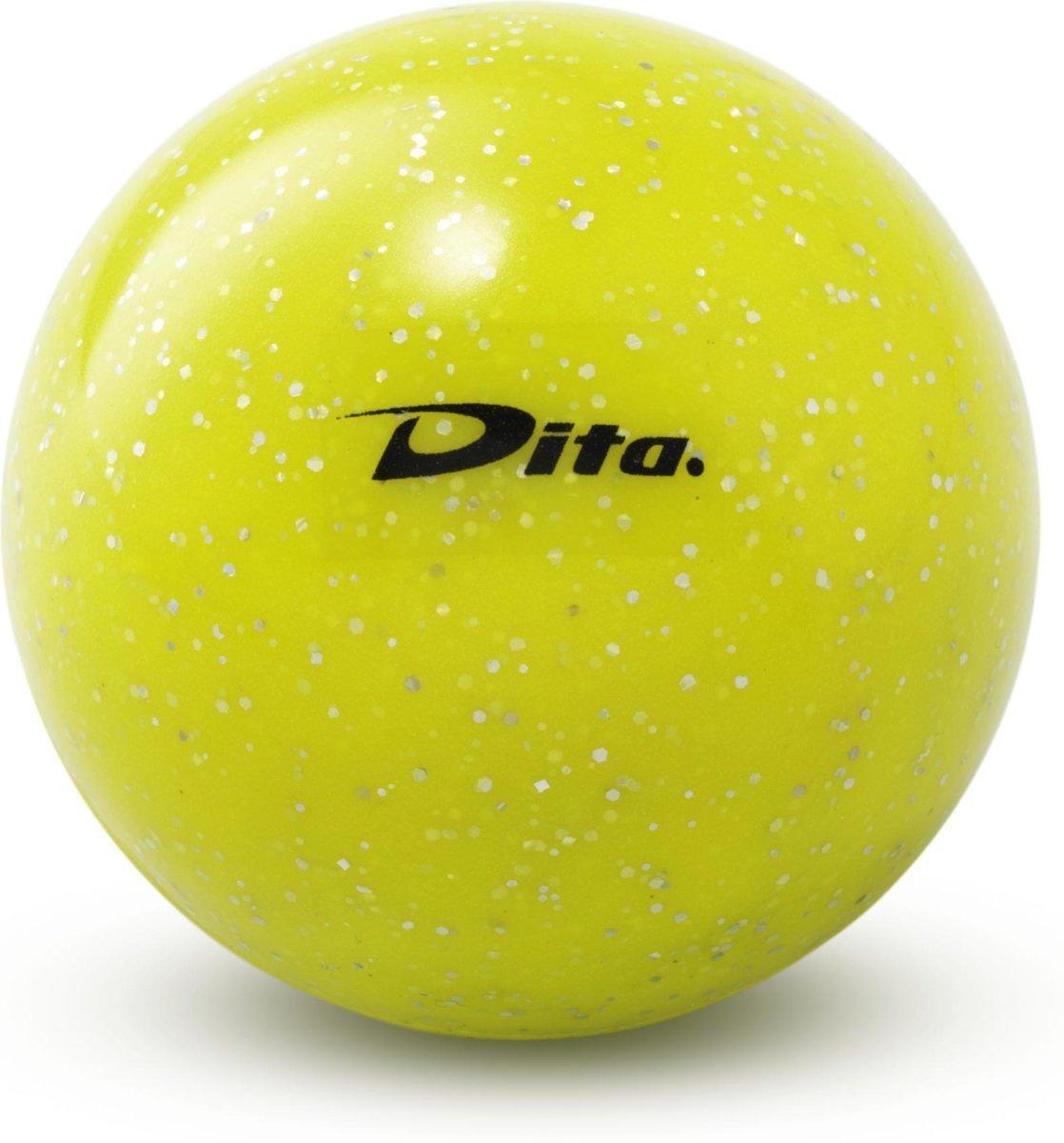 Dita Glitter ball - Veldhockeybal - Geel kopen