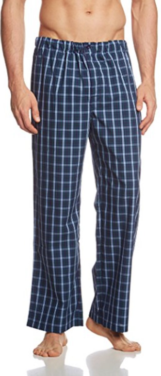 8d28407faef bol.com   Seidensticker Pyjama Blauw - Maat 48