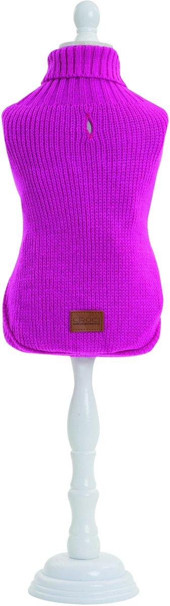 25 cm Valencia Pink CROCI Turtleneck Sweater