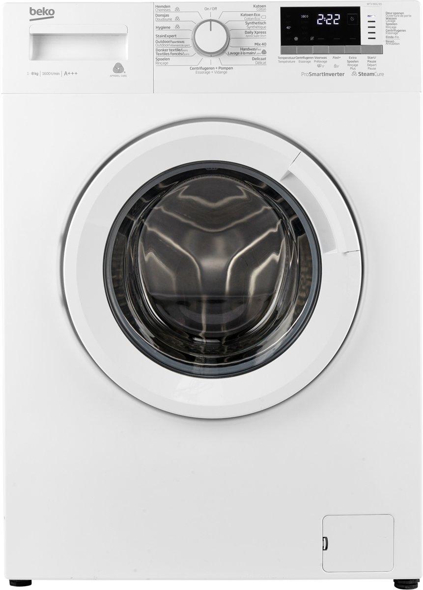 Beko WTV8812BS - Wasmachine