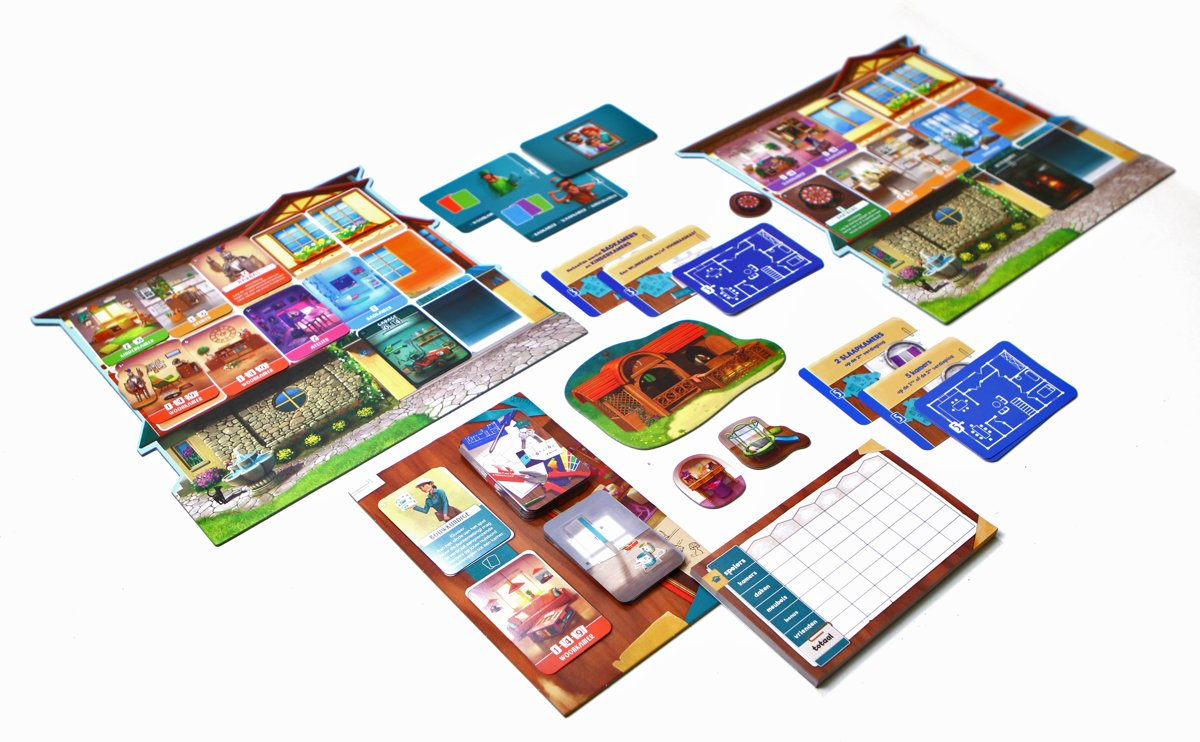 Afbeeldingsresultaat voor droomhuis bordspel