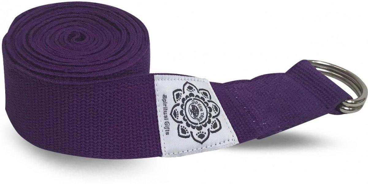 Yoga riem 270cm Paars kopen