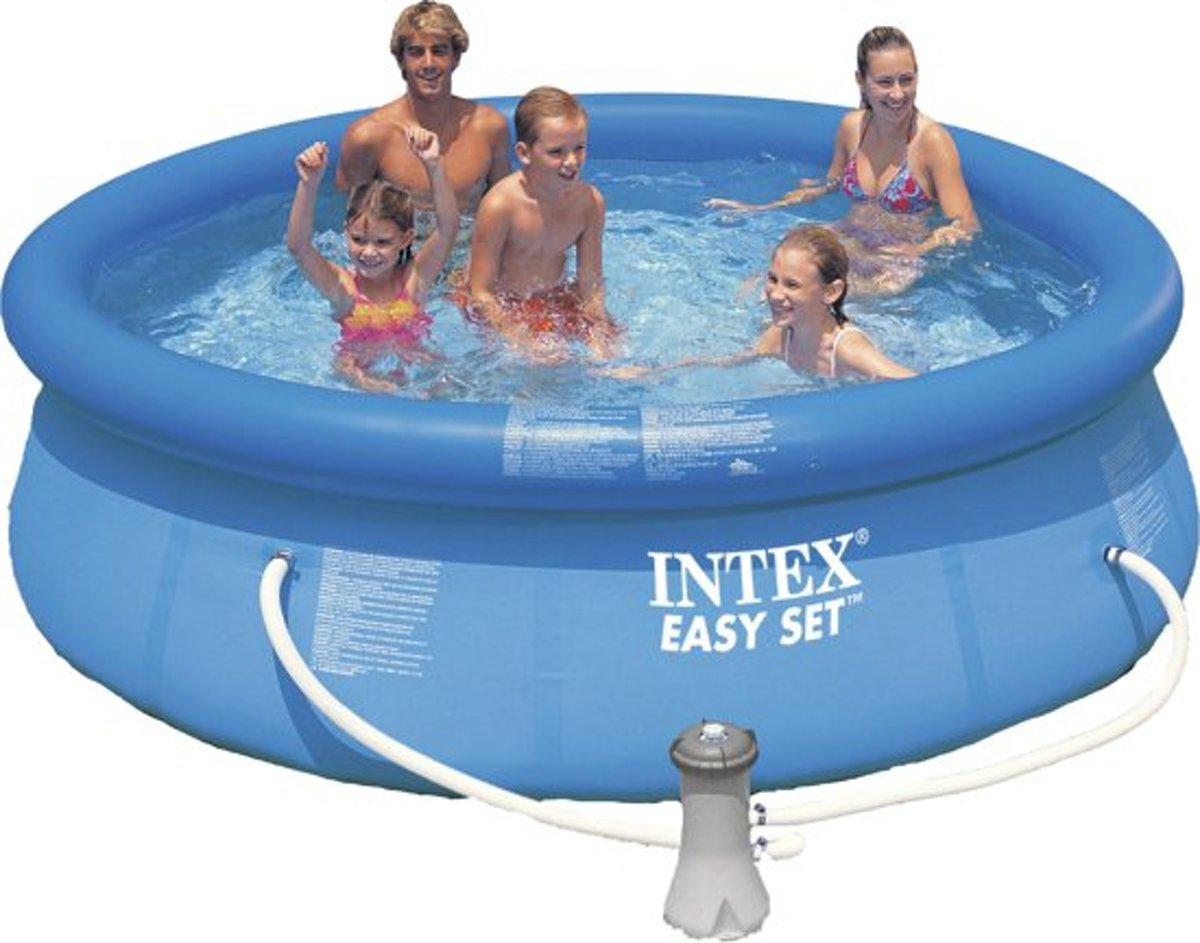 Intex Easy set Zwembad - Ø: 305 cm H: 76 cm - met reparatiesetje