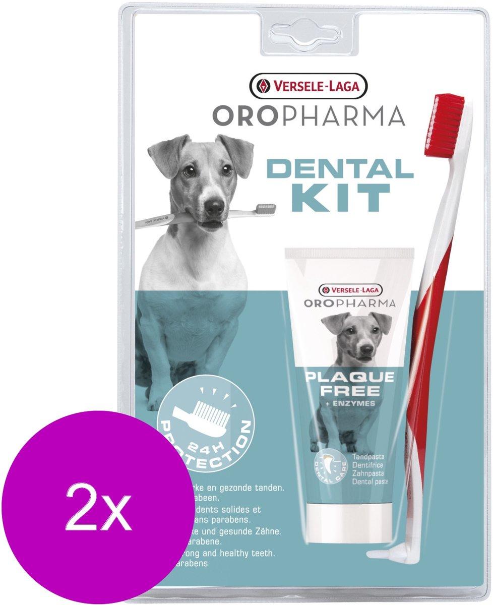 Versele-Laga Oropharma Plaque Free Dental Care Kit - Gebitsverzorging - 2 x per stuk kopen