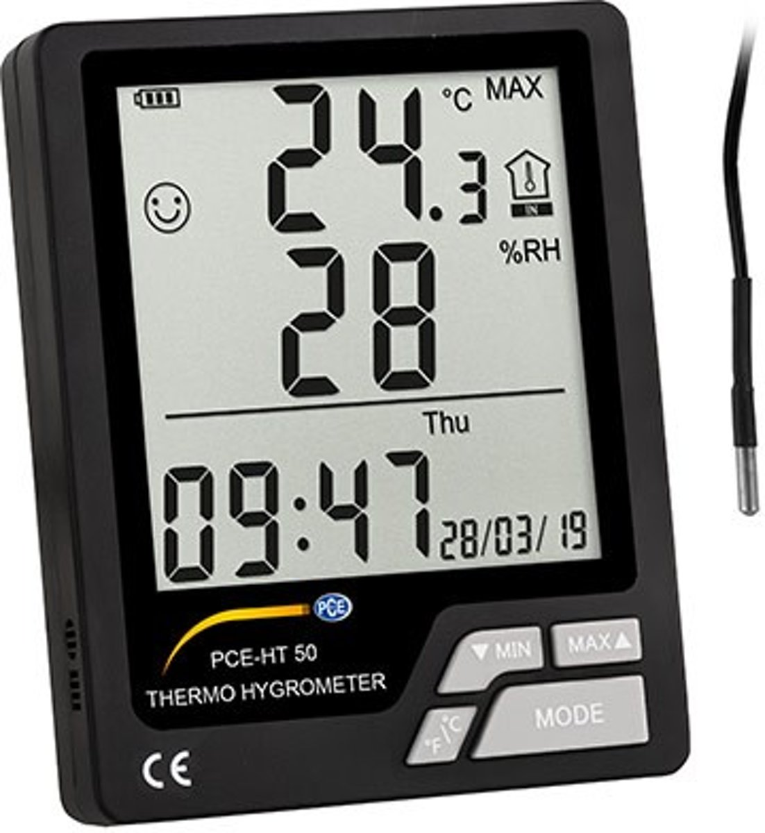 Thermo-Hygrometer PCE-HT 50 kopen
