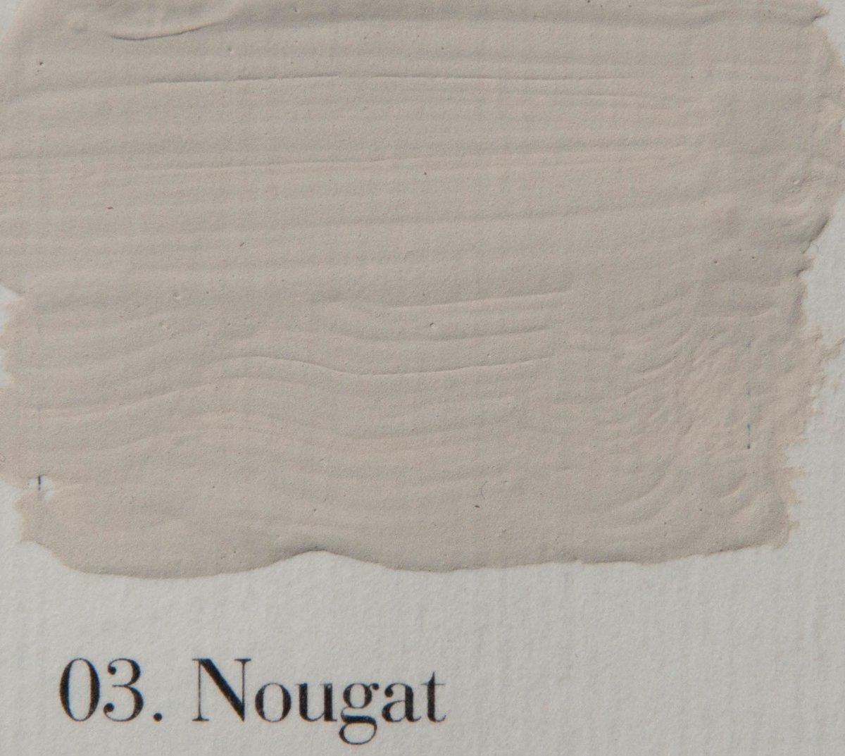 l' Authentique krijtverf, kleur 03 Nougat, 2.5 lit