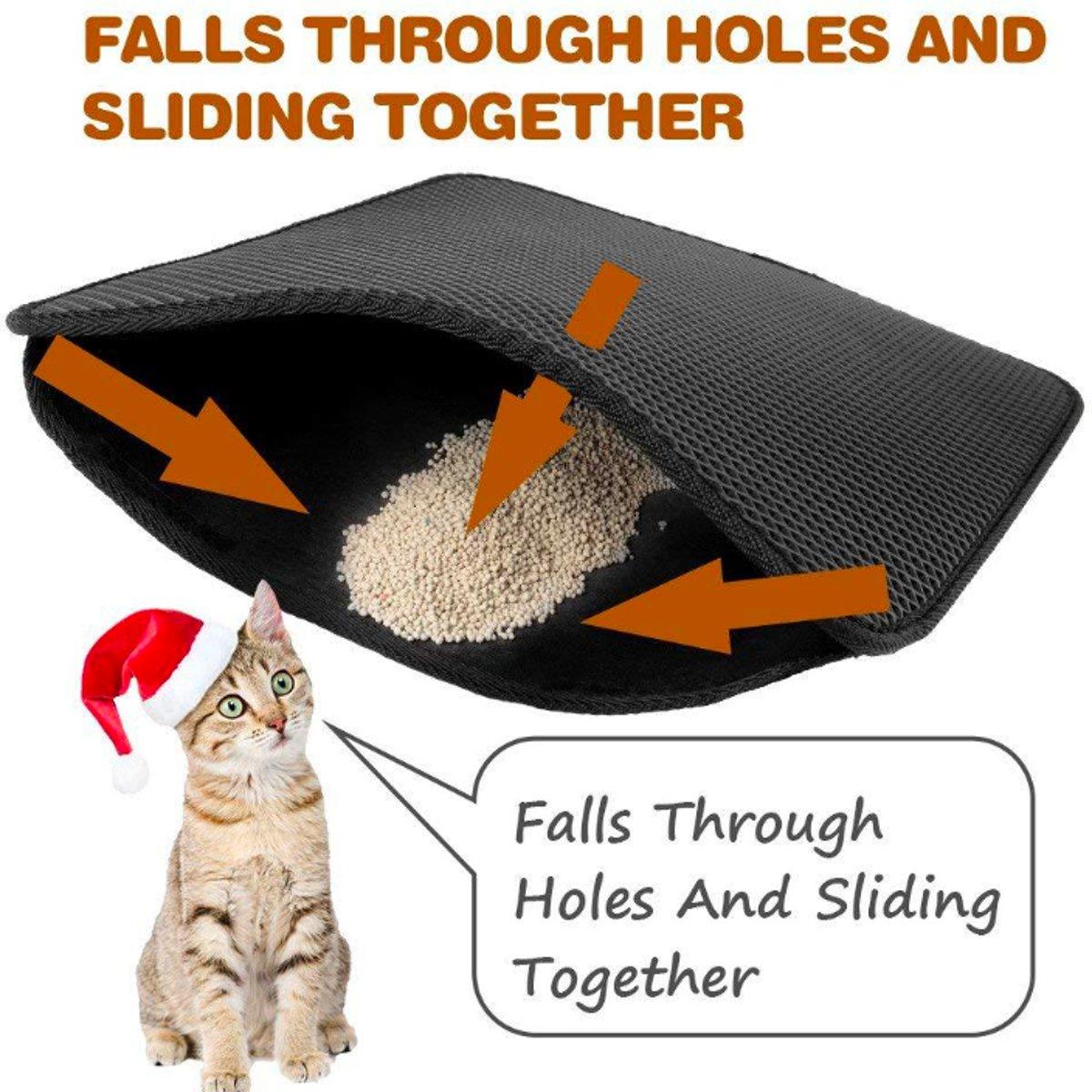Kattenbakmat-Katten-Baktmat-kattenvulling-kattengrit Maat 40x50 kopen