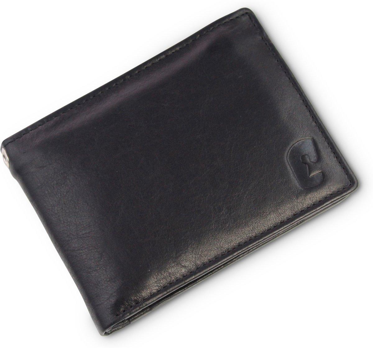 1b272a88be5 Safekeepers heren portemonnee - Large - RFID - Echt leer - Dublin - Zwart