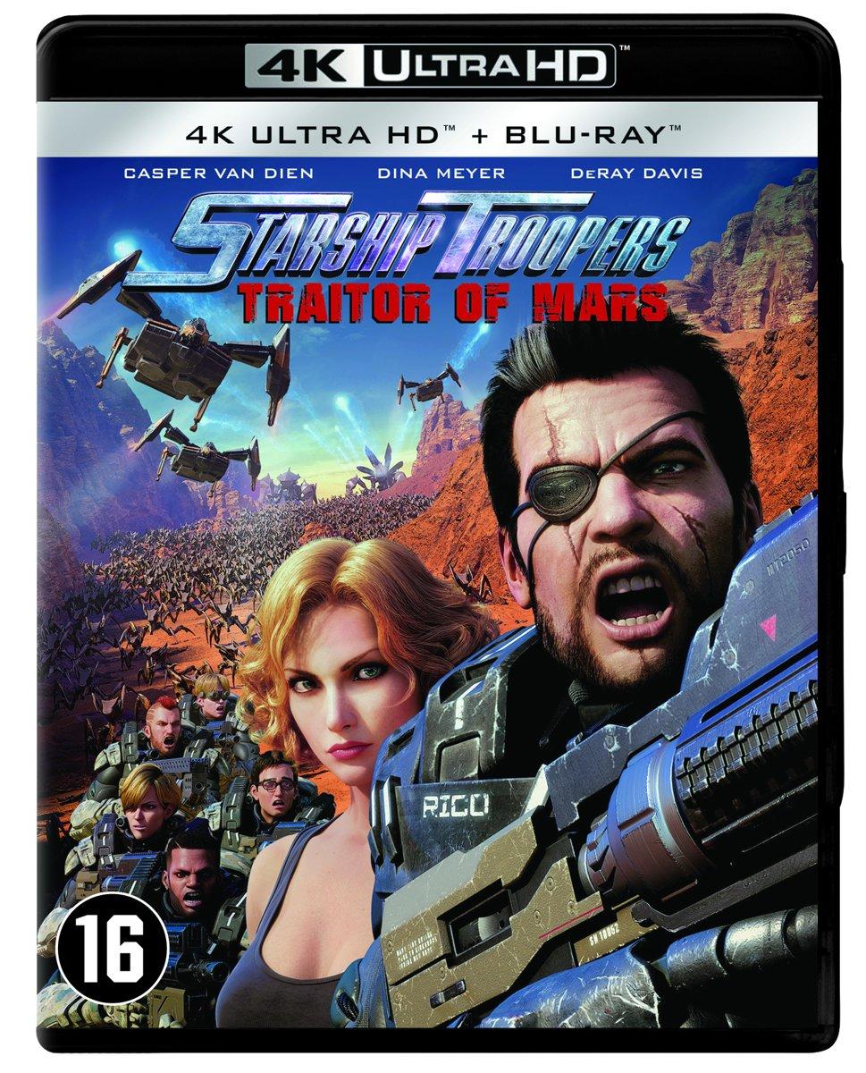 Starship Troopers: Traitor of Mars (4K Ultra HD Blu-ray)-