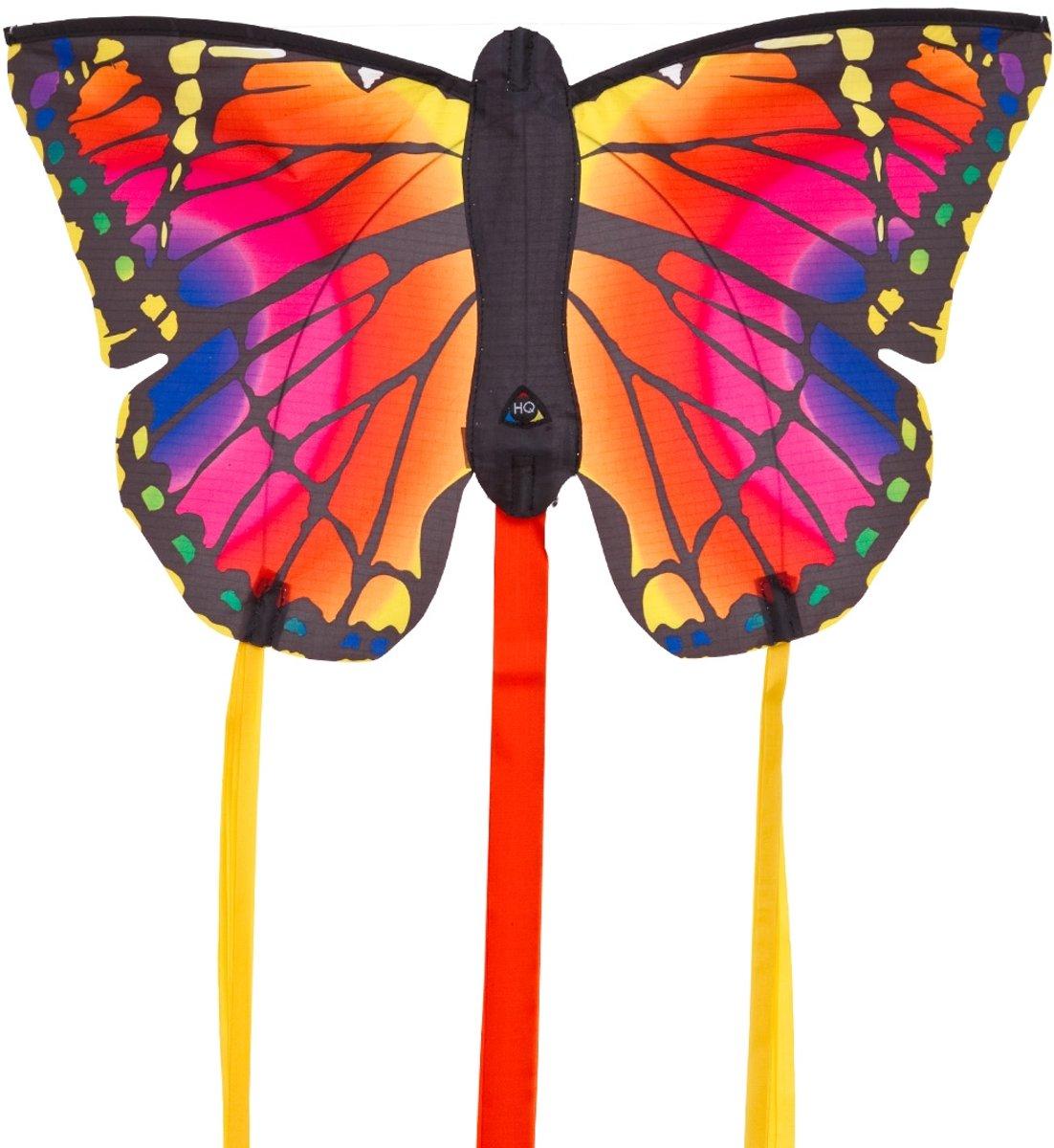 Invento Eenlijnskindervlieger Butterfly Kite R Ruby 52 Cm
