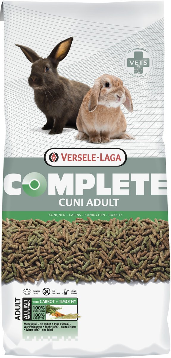 Versele-Laga Complete Cuni Adult - Konijnenvoer - 8 kg