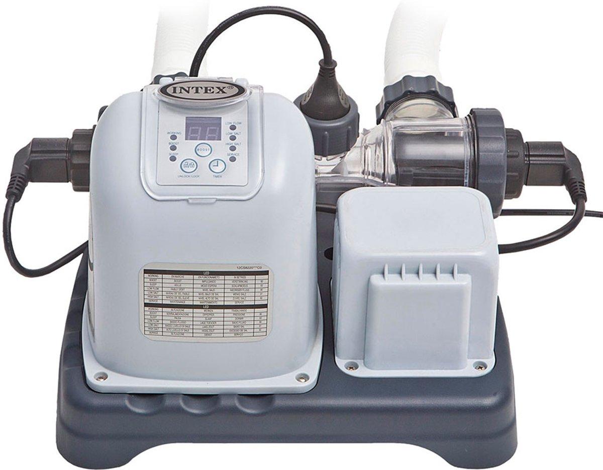 Intex 28670GS zoutwatersysteem voor grote zwembaden