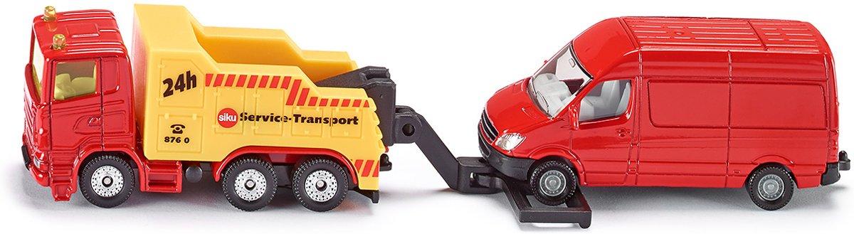 SIKU 1667 Afsleepwagen met Personenauto