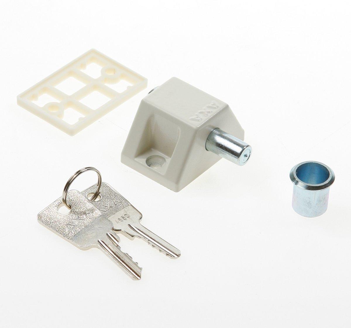 AXA 3011 - Oplegslot - 3011-00-68/0LE - wit