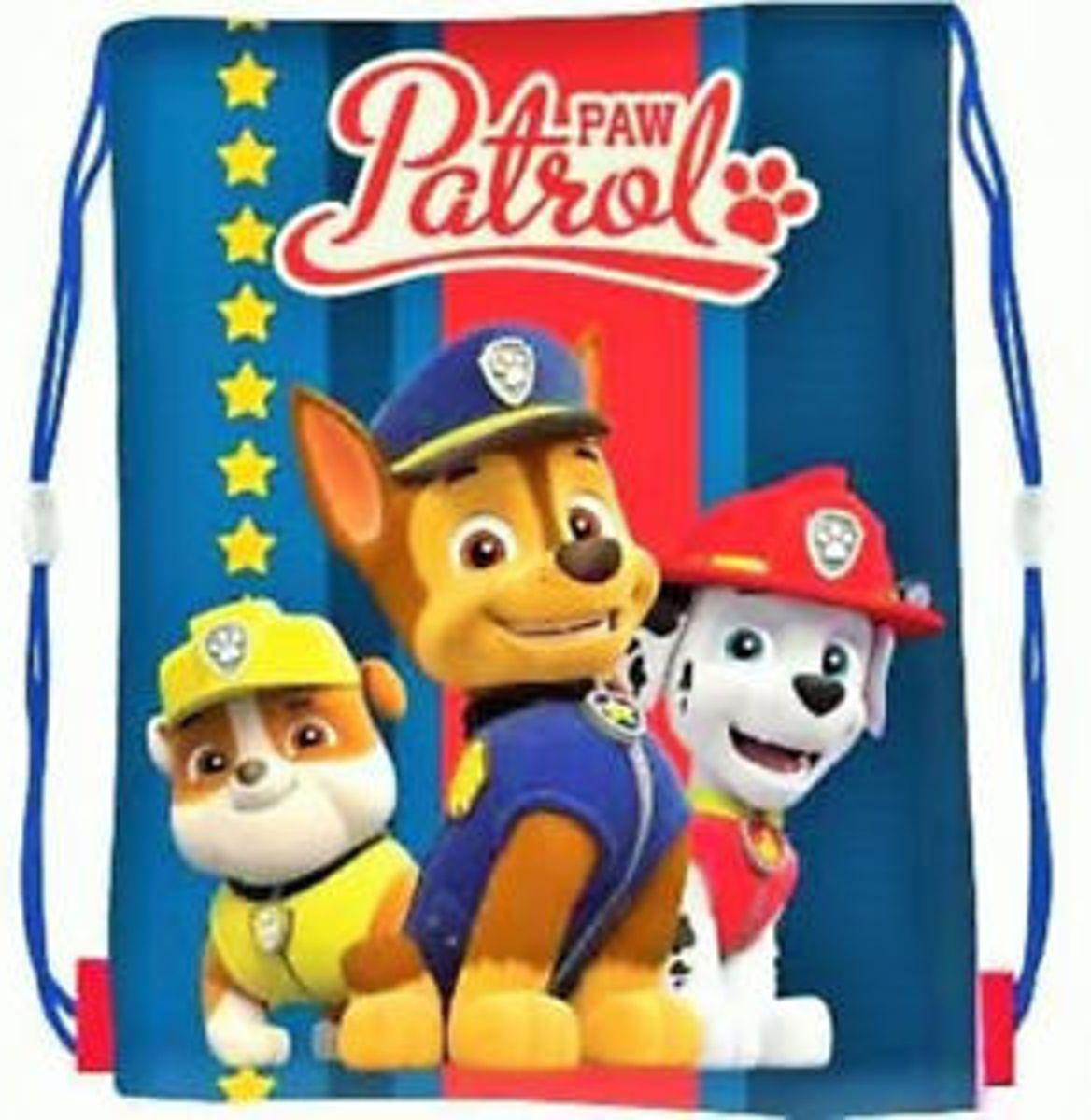 Paw Patrol Marshall Chase Rebel Zwemtas School Sport Gym Tas kopen