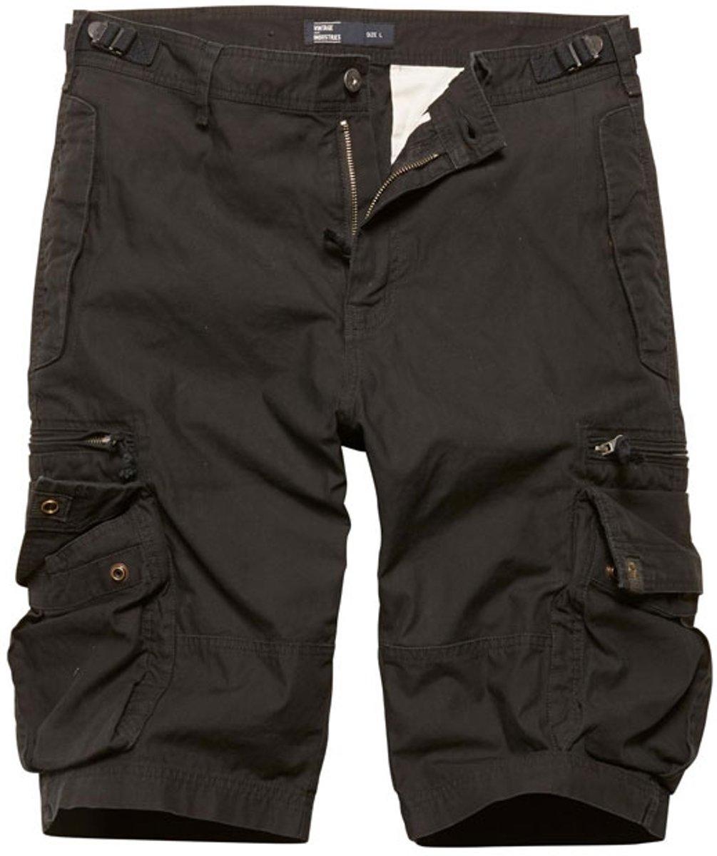 Vintage Industries Gandor shorts black