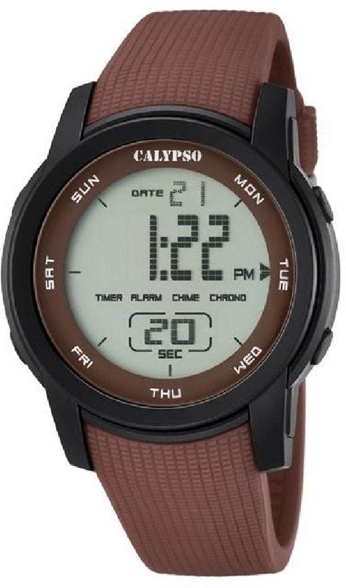 Calypso color splash K5698/5 Mannen Quartz horloge kopen