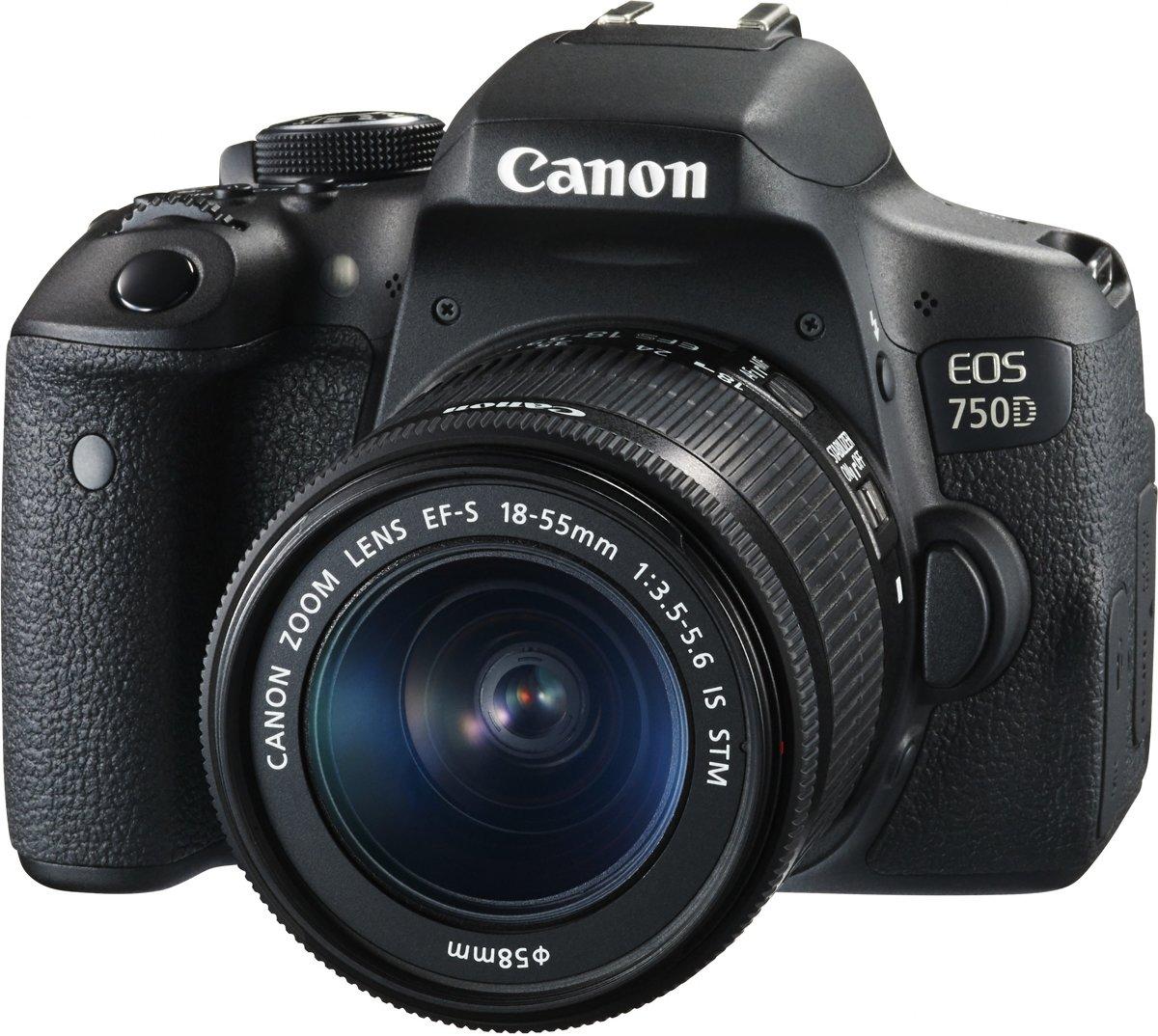 CANON EOS 750D + EF-S 18-55mm IS STM kopen