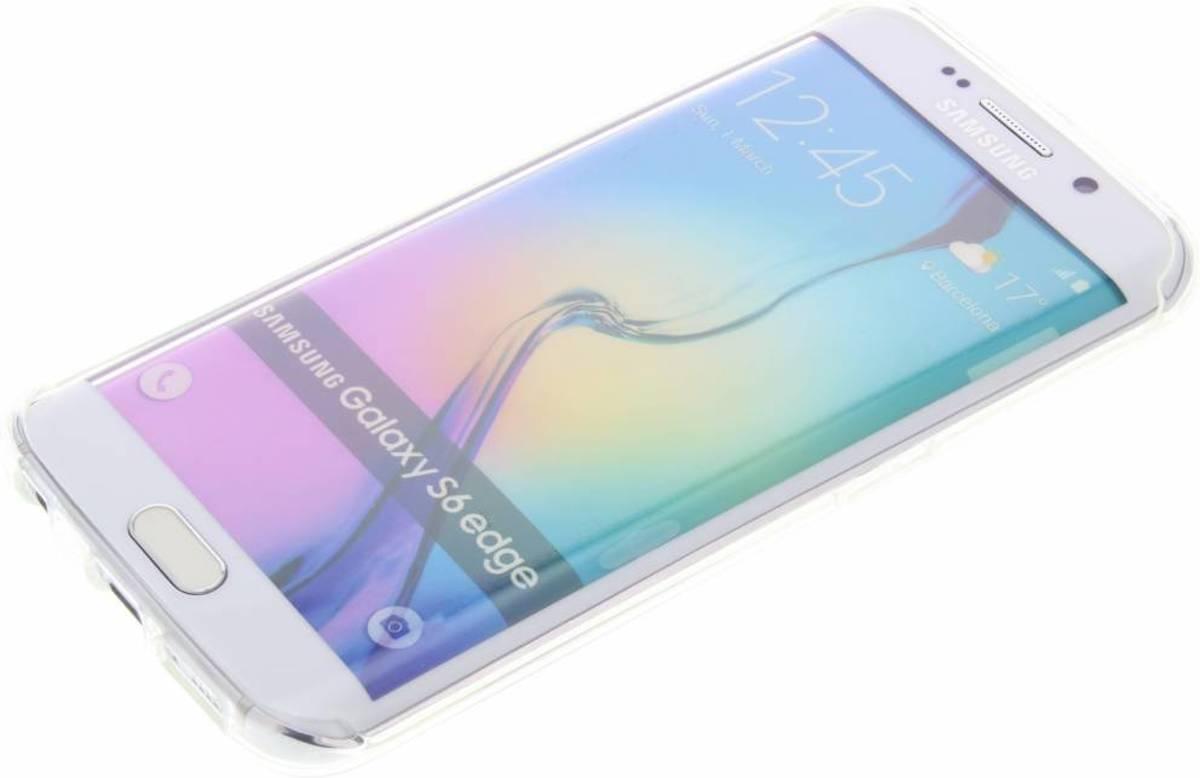Bonnes Vibes Seul Festival Cas De Tpu Transparent Pour Bord De Samsung Galaxy S 7mDQYed