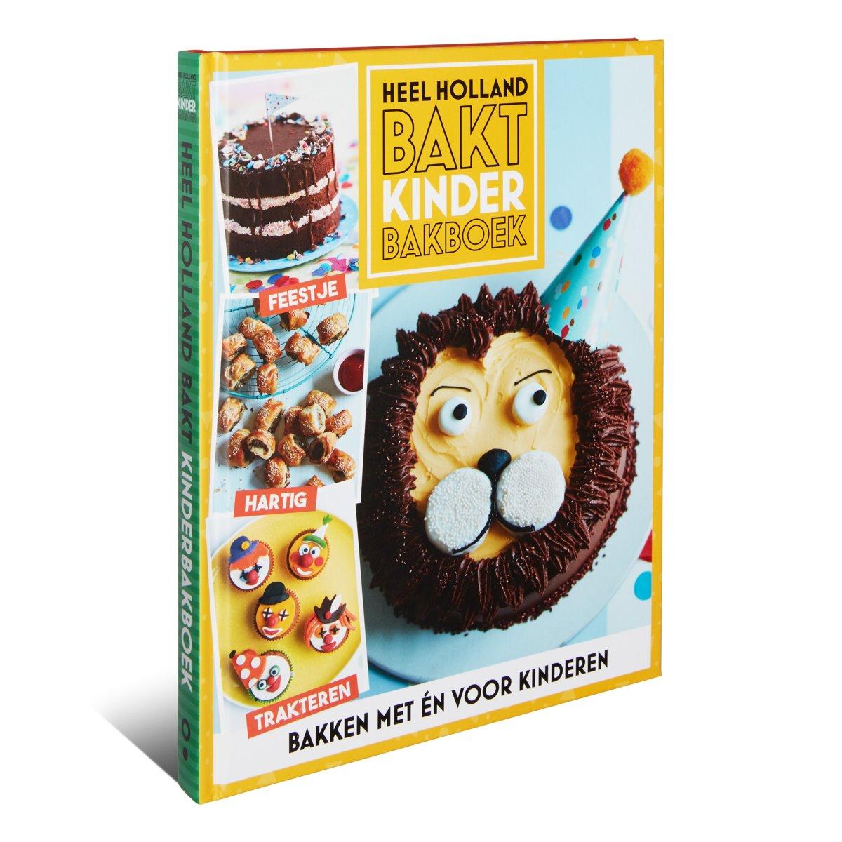 Afbeeldingsresultaat voor heel holland bakt kinderbakboek