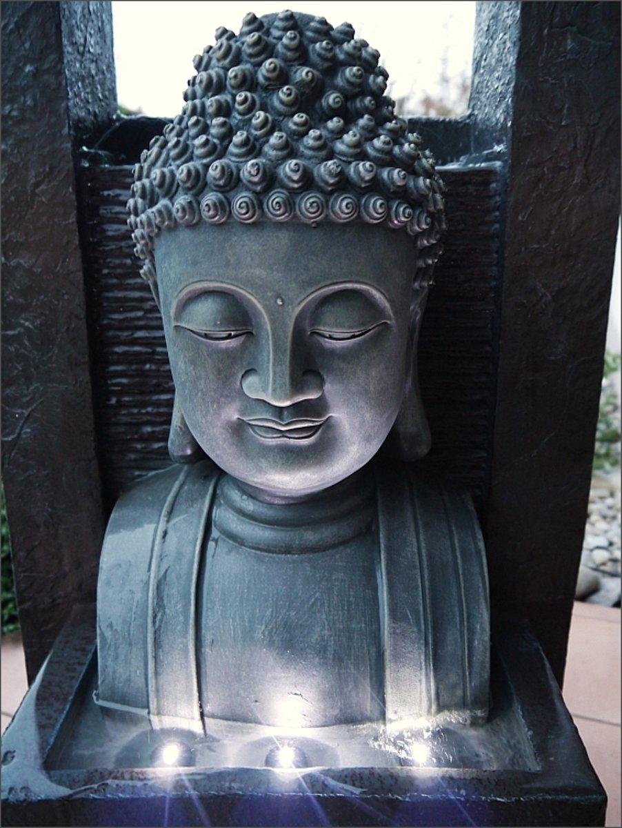 Boeddha Met Led Verlichting.Bol Com Giant Boeddha Buddha Fontein 109cm Waterpartij