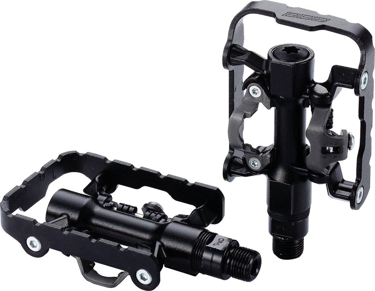 BBB BPD-23 DualChoice Pedalen - Platform en SPD-compatibel - Zwart kopen
