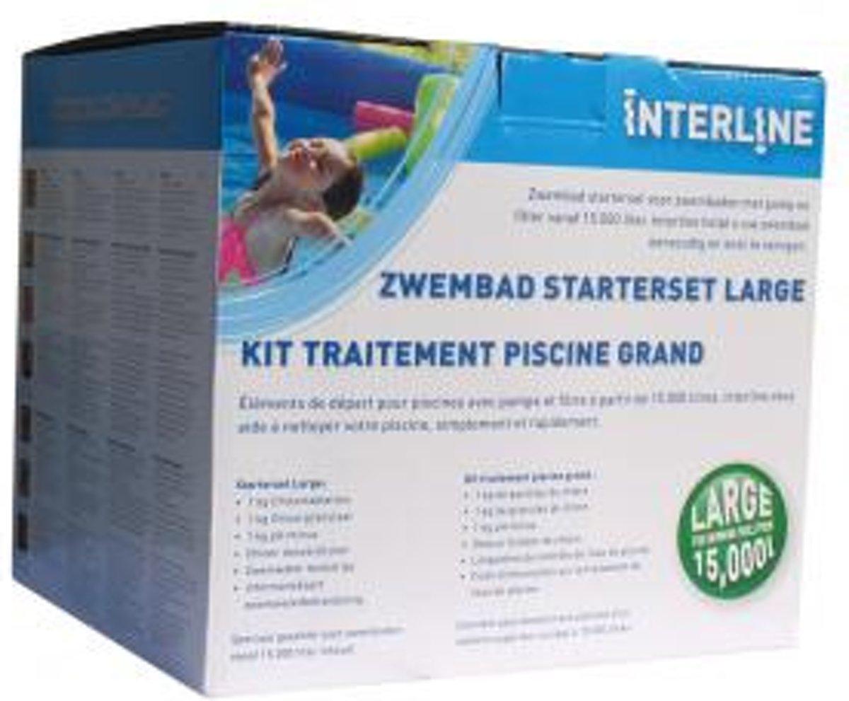 Interline Zwembad Chloor Starterspakket Large Organisch