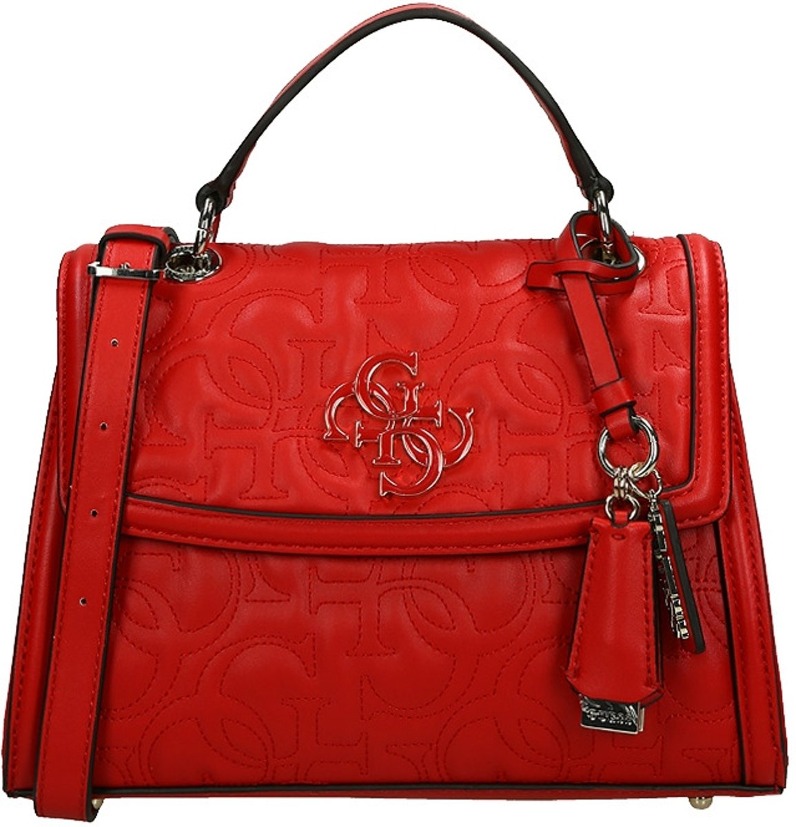 Guess New Wave Handtas Red Rood