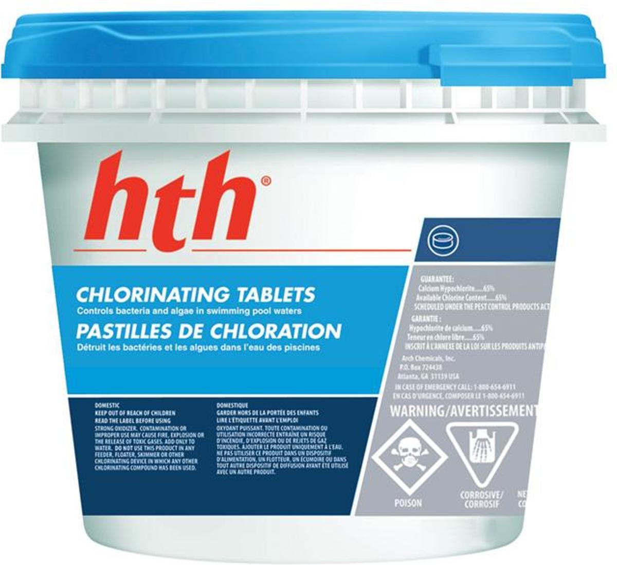 HTH chloortabletten 10 kg