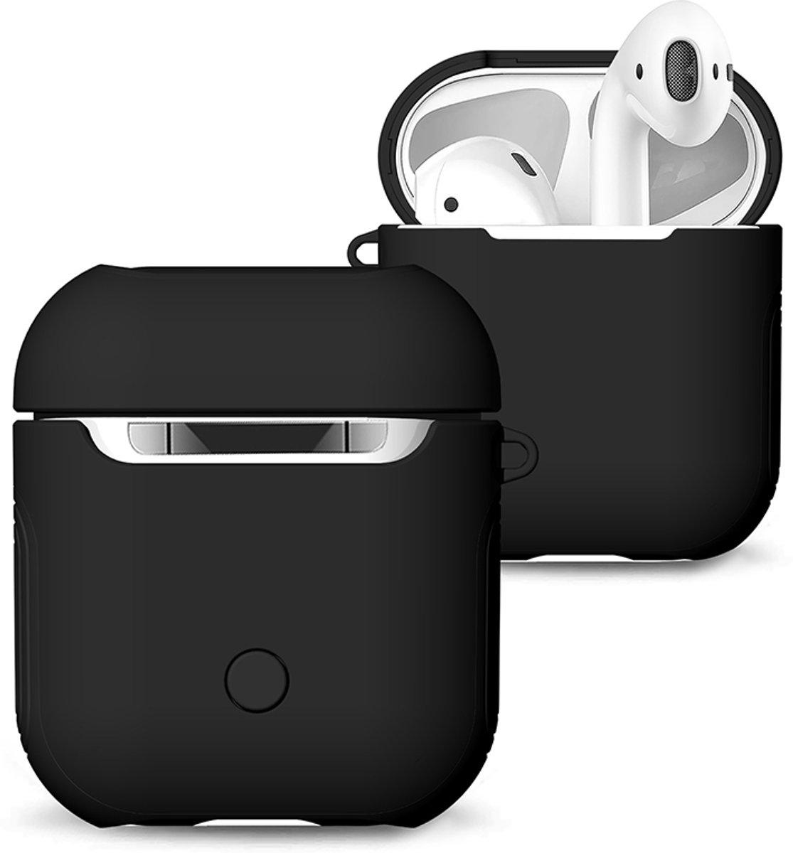 KELERINO. Hoesje voor Apple Airpods Hybride - Zwart kopen