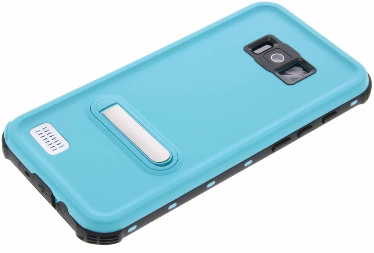 Point Bleu Boîtier Étanche Pour Samsung Galaxy S8 MpwudGC
