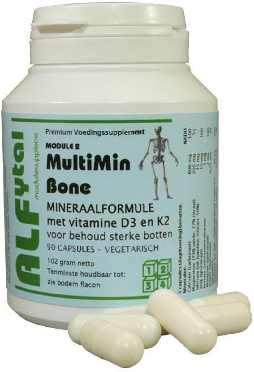 Foto van Alfytal Multimin Bone (Module 2) 90 vegicaps