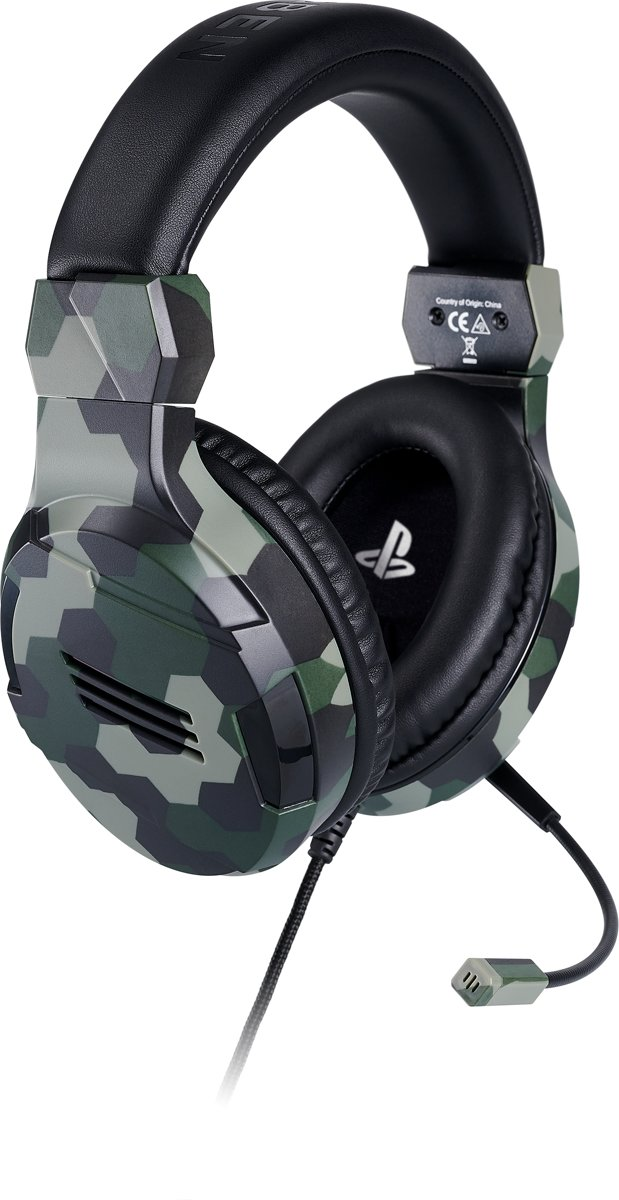 Official Licensed Playstation 4 Stereo Gaming Headset - PS4 - Camo kopen